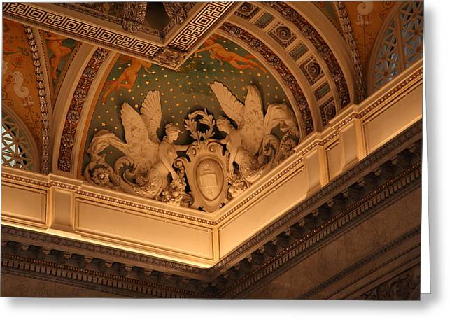 Library Of Congress - Washington Dc - 011316 Greeting Card by DC Photographer