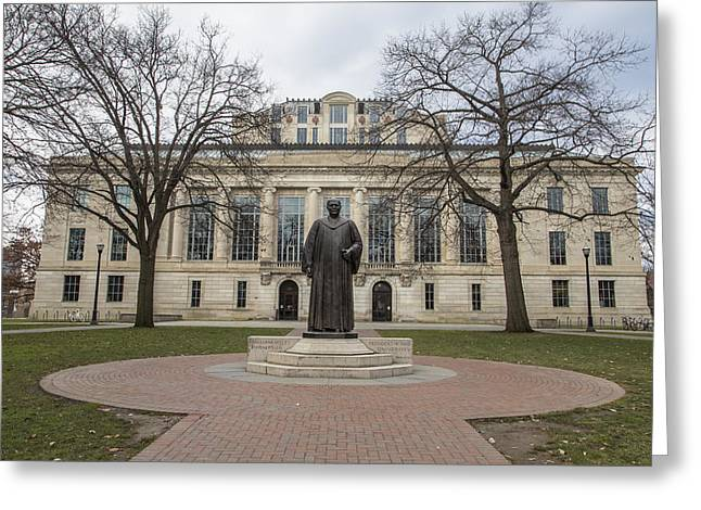 The Ohio State University Greeting Cards - Library Ohio State University  Greeting Card by John McGraw