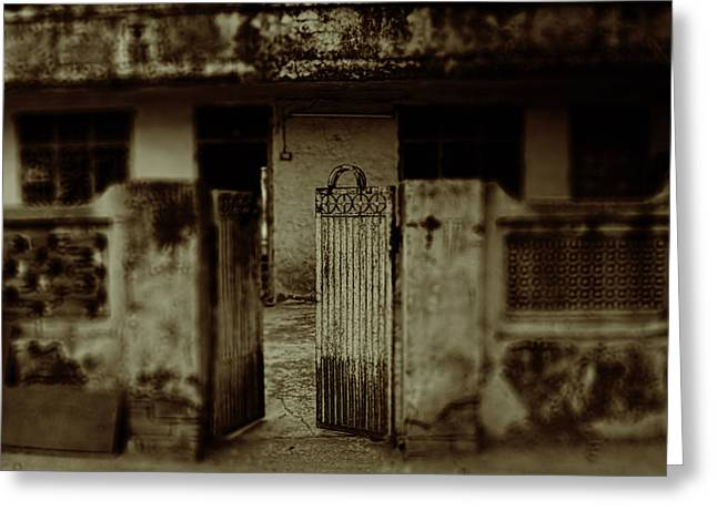 Haunted House Greeting Card Greeting Cards - Life 05 Greeting Card by Pooja Johry