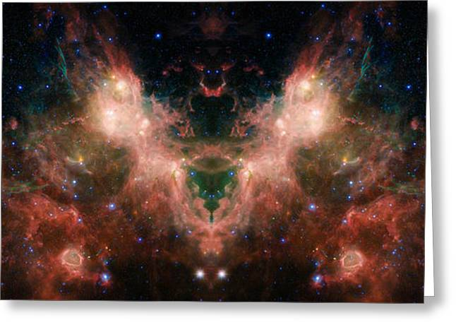Nasa Images Greeting Cards - Life and Death of Stars 4 Greeting Card by The  Vault - Jennifer Rondinelli Reilly