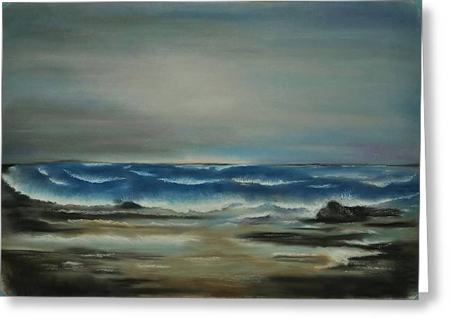 Ocean Scenes Pastels Greeting Cards - Life Greeting Card by Carole Knudson