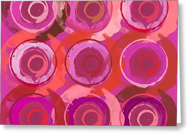 Lisa Noneman Digital Art Greeting Cards - Life Circles Greeting Card by Lisa Noneman