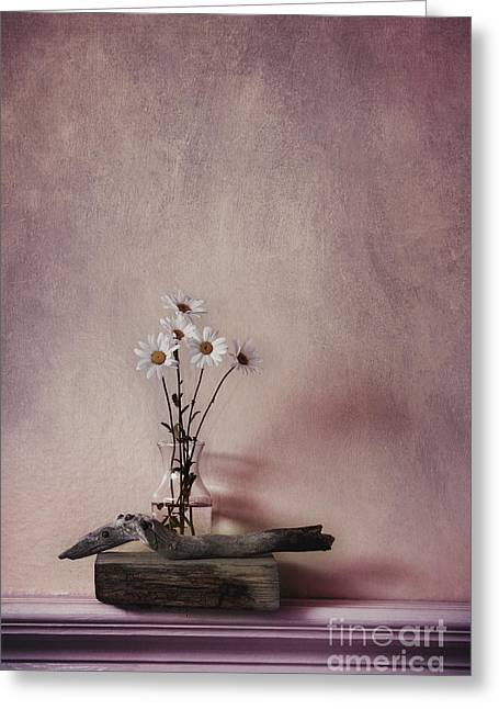 Life Gives You Daisies Greeting Card by Priska Wettstein