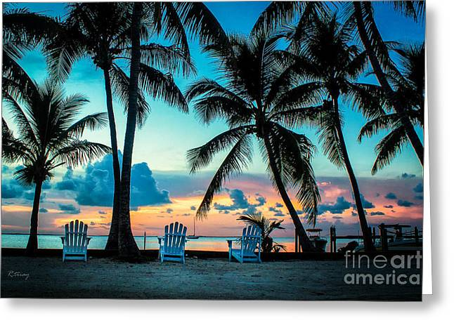 Isla Morada Greeting Cards - Life in the Tropics Greeting Card by Rene Triay Photography