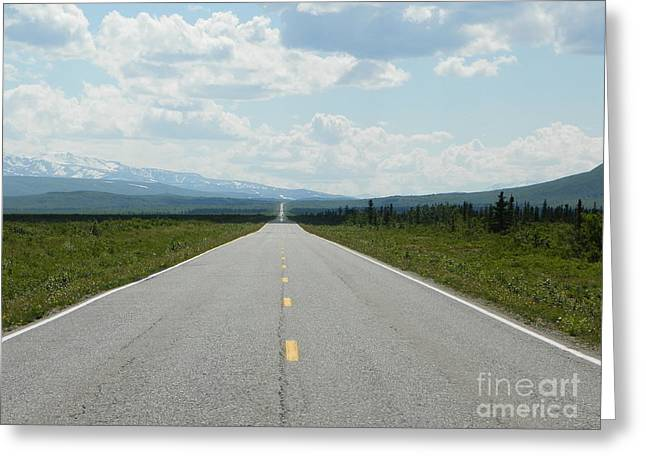Jennifer Kimberly Greeting Cards - Life is a highway Greeting Card by Jennifer Kimberly