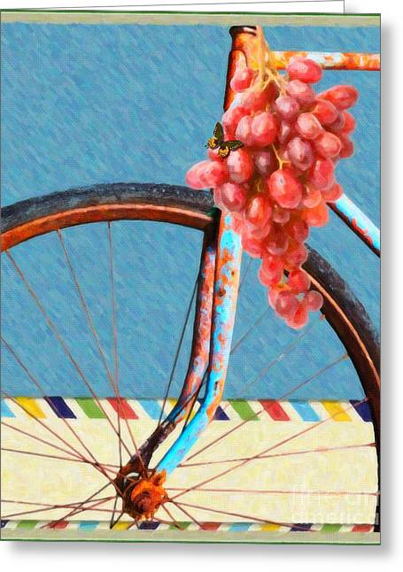 Life Is An Adventure Greeting Card by Liane Wright
