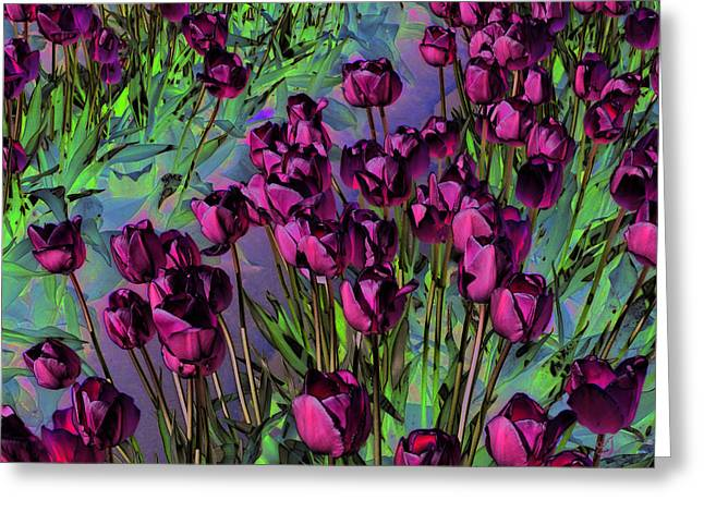Floral Digital Art Digital Art Greeting Cards - Life is Beautiful Greeting Card by Music of the Heart
