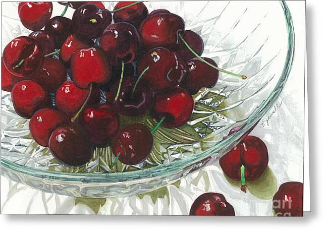 Barbara Paintings Greeting Cards - Life is Just a - - - Greeting Card by Barbara Jewell