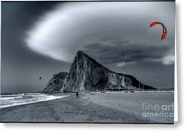 Life Is Not Always Black And White Greeting Card by English Landscapes