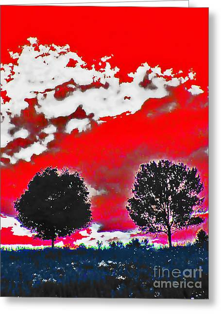 Enhanced Mixed Media Greeting Cards - Life is Perception Greeting Card by Minding My  Visions by Adri and Ray