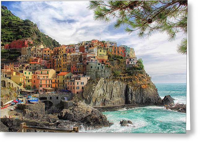 Life Italian Style Greeting Card by Mountain Dreams