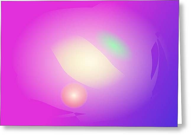 Gradations Digital Art Greeting Cards - Life Greeting Card by Masaaki Kimura