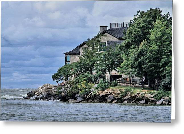 Rip Tide Greeting Cards - Life On The Lake Greeting Card by Dan Sproul