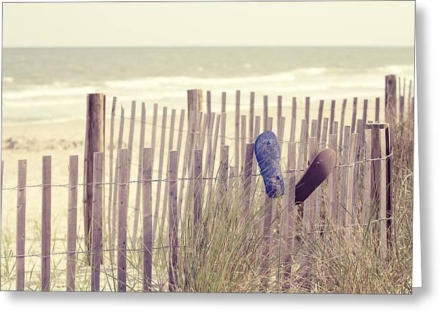 Beach Photos Greeting Cards - Lifes a Beach Greeting Card by Stephanie McDowell