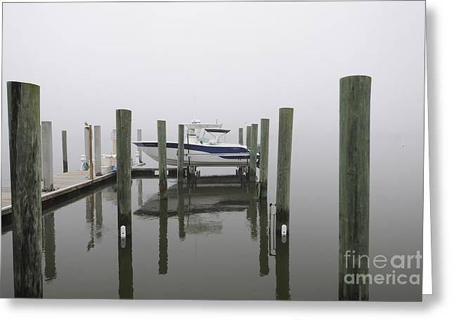 Mt. Pleasant Sc Greeting Cards - Lifted up into the Fog Greeting Card by Dale Powell