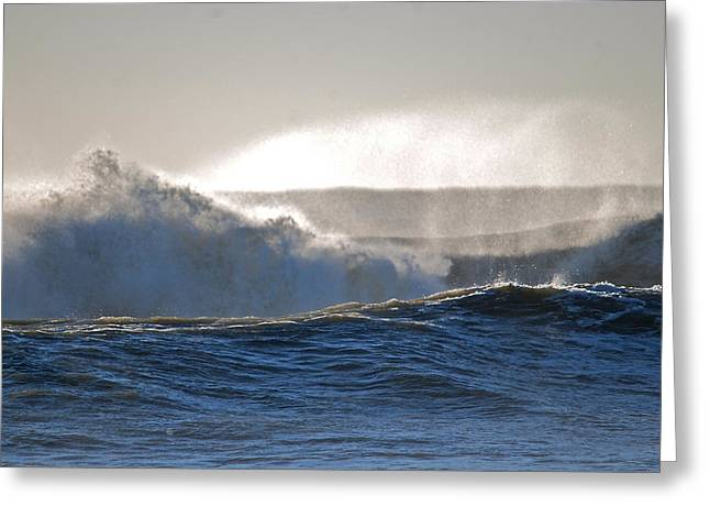 Lori Engle Greeting Cards - Light After the Storm 1 of 3 Greeting Card by Lori Engle