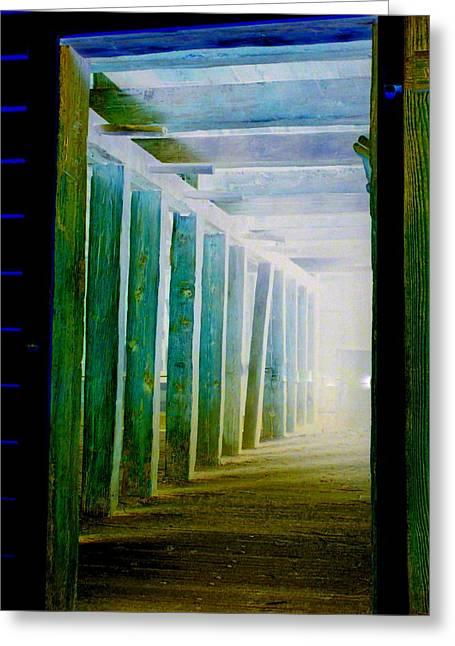 Light At The End Of The Tunnel Greeting Cards - Light At The End Of The Tunnel Greeting Card by Randall Weidner