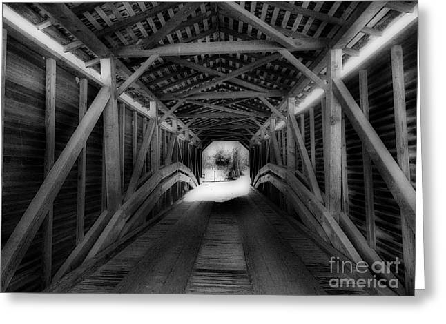 Scenic Tours Greeting Cards - Light At The End Greeting Card by Skip Willits