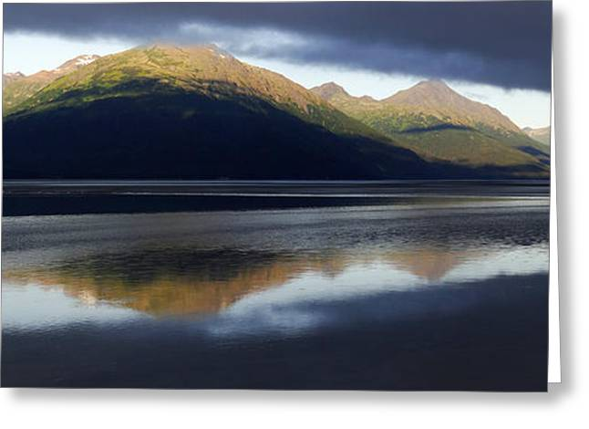 Scenic Drive Greeting Cards - Light Between the Dark Clouds 2 Greeting Card by Qing Yang