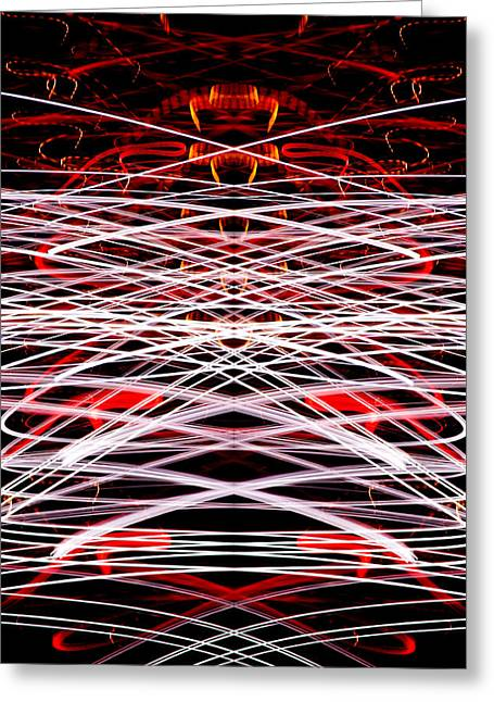Light Fantastic 37 Greeting Card by Natalie Kinnear