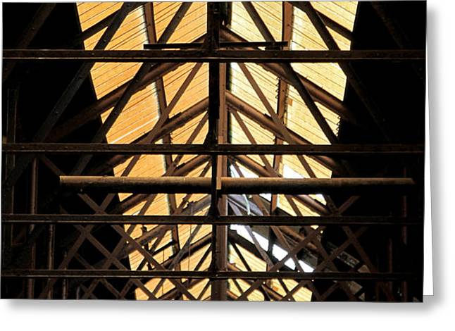 Light from Above Greeting Card by DJ Florek