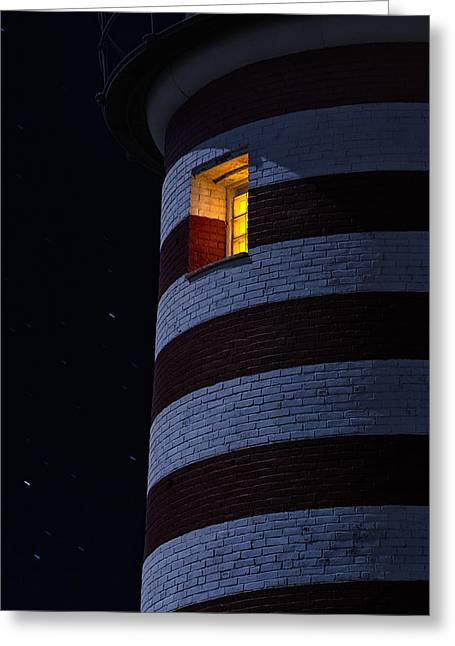 Downeast Greeting Cards - Light From Within Greeting Card by Marty Saccone
