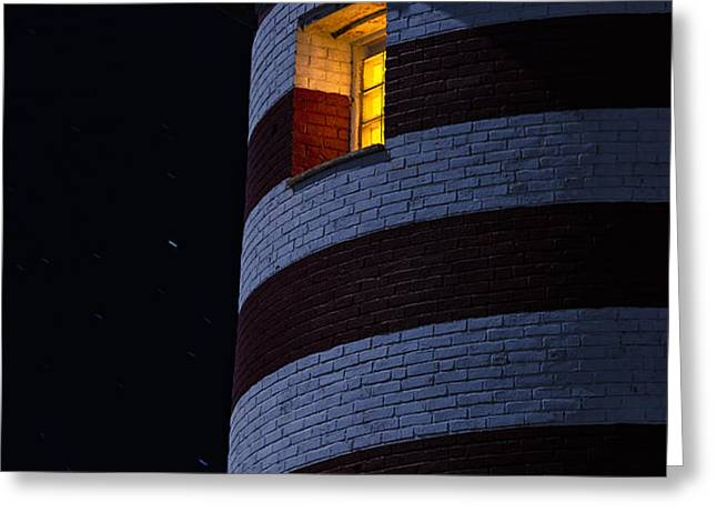 Light From Within Greeting Card by Marty Saccone