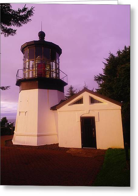 Old Relics Greeting Cards - Light House Greeting Card by Jeff  Swan