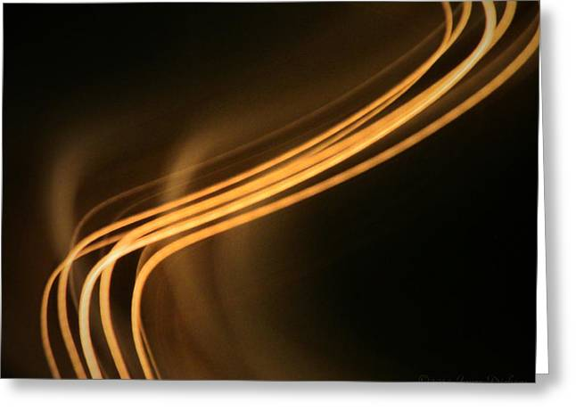 Light In Motion The Next Generation Greeting Card by Joyce Dickens