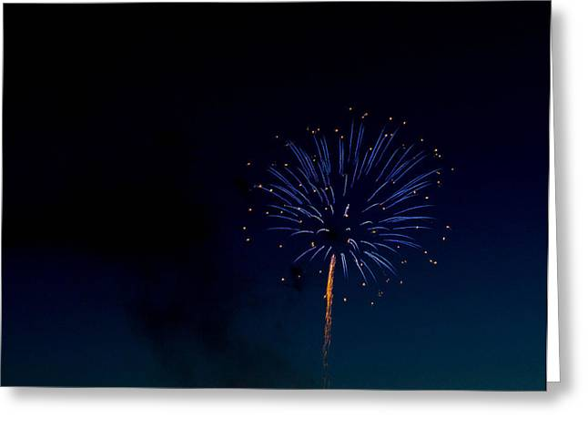 4th July Photographs Greeting Cards - Light in the Night Greeting Card by Megan Tangeman