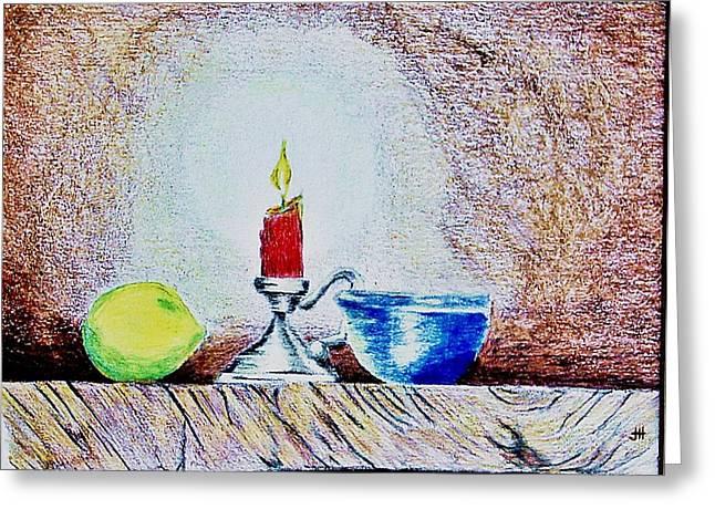 Light Greeting Card by Joseph Hawkins