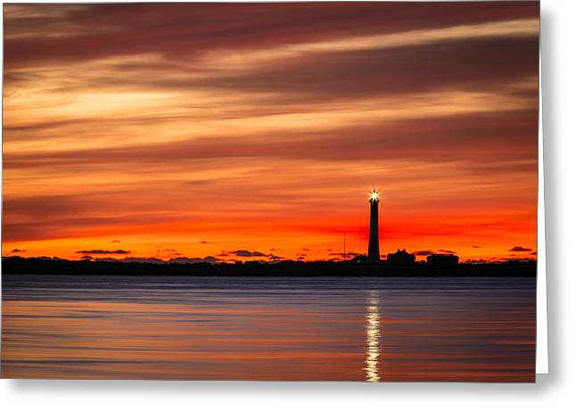 Fire Island Greeting Cards - Light My Fire Greeting Card by Mike Lang