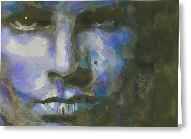 The Doors Greeting Cards - Light My Fire  Greeting Card by Paul Lovering