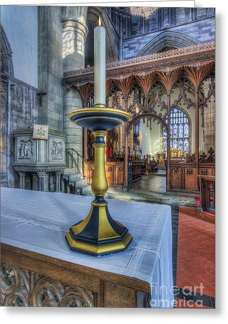 Light Of Life Greeting Card by Ian Mitchell