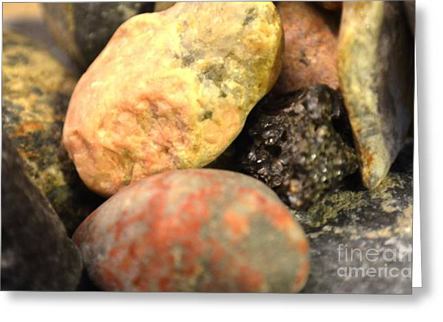 Esem8chart.com Greeting Cards - Light on Rocks Greeting Card by Sarah Holenstein