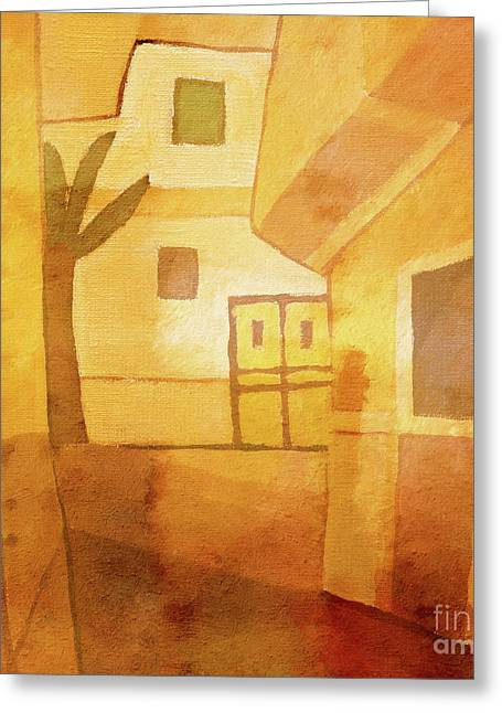 Abstract Series Greeting Cards - Light over Egypt Greeting Card by Lutz Baar