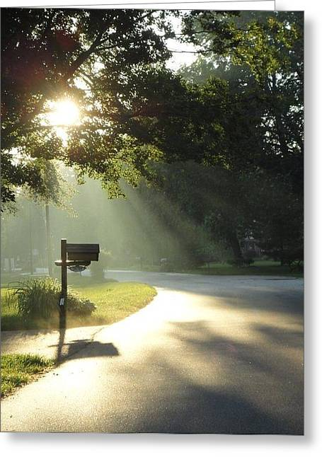 Guy Ricketts Photography Greeting Cards - Light the Way Home Greeting Card by Guy Ricketts