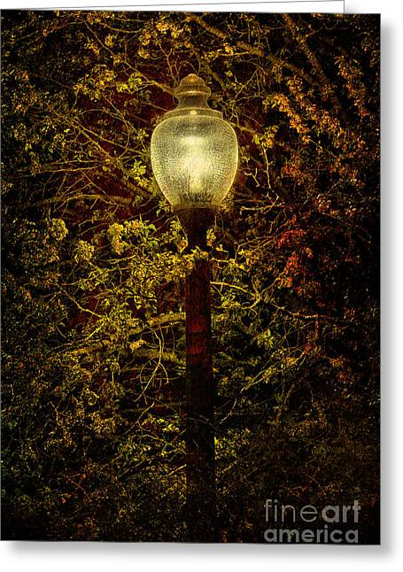 Photographers Mixed Media Greeting Cards - Light Unto Darkness - Greensboro North Carolina Greeting Card by Dan Carmichael