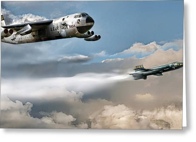B-52 Greeting Cards - Light Your Candles Greeting Card by Peter Chilelli