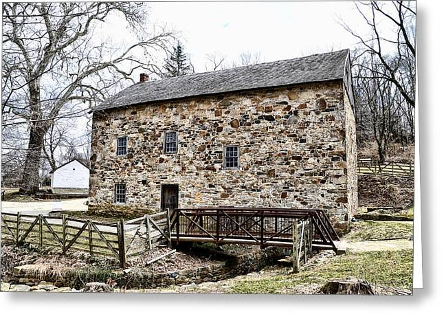 Lightfoot Mill at Anselma Chester County Greeting Card by Bill Cannon
