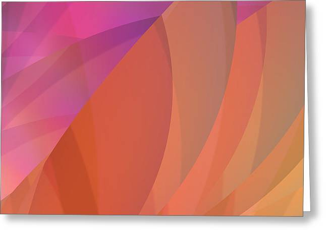 Algorithmic Abstract Greeting Cards - Lighthearted Greeting Card by Judi Suni Hall
