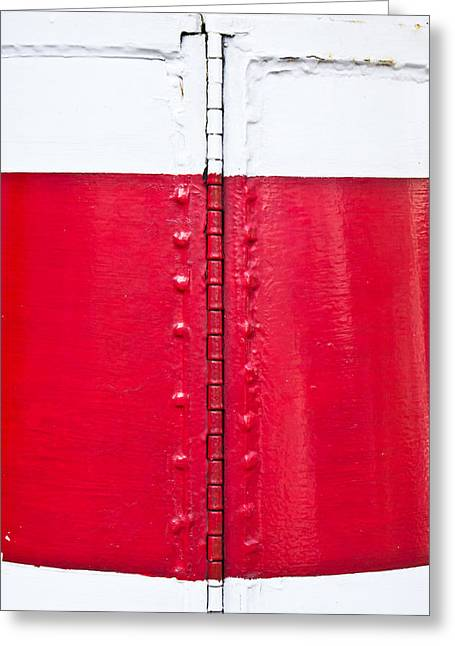 Hinges Greeting Cards - Lighthouse architecture Greeting Card by Tom Gowanlock