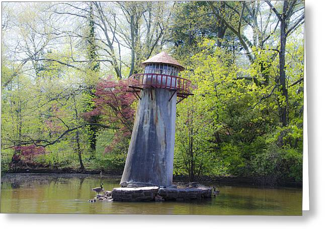 Limerick Greeting Cards - Lighthouse at Landis Creek - Limerick Pa. Greeting Card by Bill Cannon