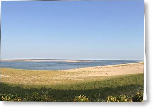Chatham Greeting Cards - Lighthouse Beach Greeting Card by Robin Raible