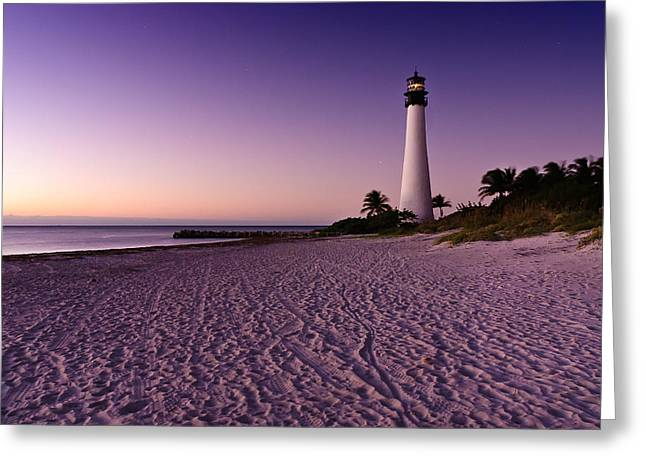 Bill Baggs Greeting Cards - Lighthouse Bill Baggs Greeting Card by David Arran