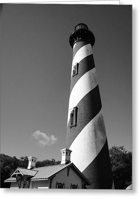 Lighthouse By The Sea Greeting Cards - Lighthouse Greeting Card by Brandon Addis