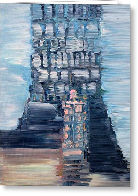 Step Ladder Greeting Cards - Lighthouse Greeting Card by Fabrizio Cassetta