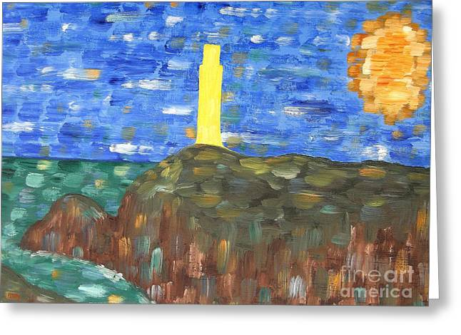 Abstract Expressionism Photographs Greeting Cards - Irish Landscape 16 Greeting Card by Patrick J Murphy