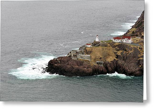 Scenary Greeting Cards - Lighthouse. Saint Johns. Greeting Card by Fernando Barozza