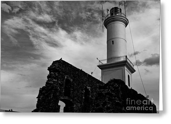 Will Cardoso Greeting Cards - Lighthouse Greeting Card by Will Cardoso